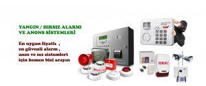 yangın alarmı-hırsız alarmı